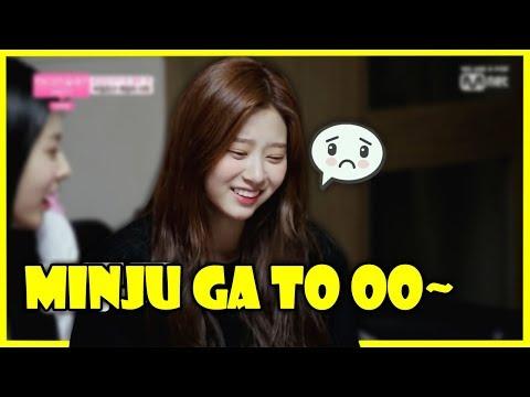 IZONE teasing Minju (MINJUGATO / 민주가또) [김민주] (아이즈원)
