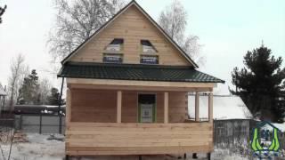 Обзор дома из строганного бруса, Госуниверситет