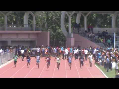 Heera Lal Verma 100 meter Mens Heat Delhi State 2016