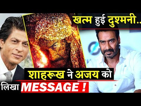 Ice Melts Between Ajay Devgn And Shahrukh Khan, King Khan Sends Best Wishes For Tanhaji Mp3