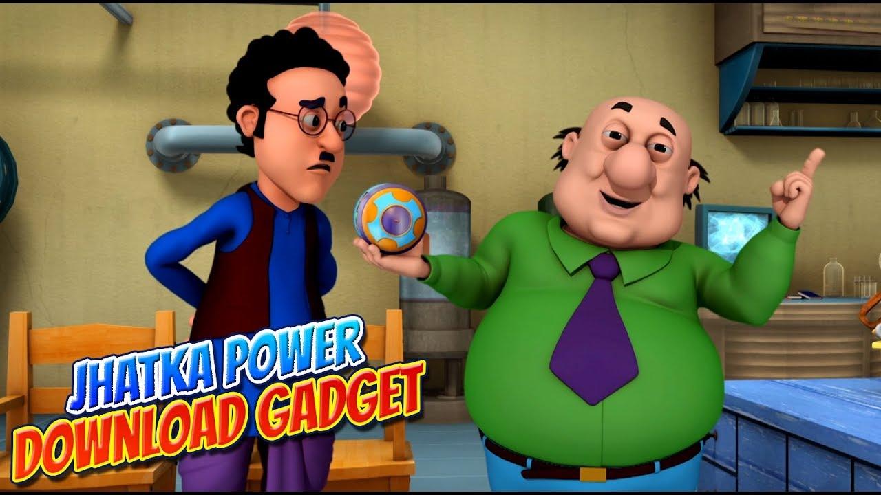 Download Motu Patlu in Hindi |  मोटू पतलू  | cartoon | Jhatka Power Download Gadget