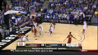 03/14/2014 Iowa State vs Kansas Men