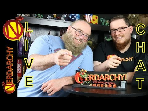 Talking D&D with a Fan and Nate the Nerdarch- Nerdarchy Live Chat #114