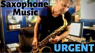 Urgent - Saxophone Music & Backing Track