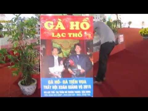 Gà Hồ - sản vật Tiến Vua tại Hội chợ Xuân Giảng Võ 2015 p2