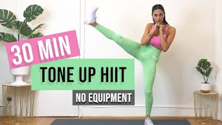 30 MIN TONE UP HIIT ( No Equipment ) | Fitness Dilek