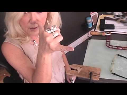 Sawing tips with the Knew Concepts Jeweler's saw.