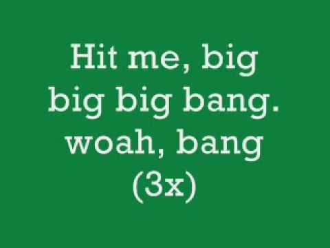 Rock Mafia, The Big Bang Lyrics