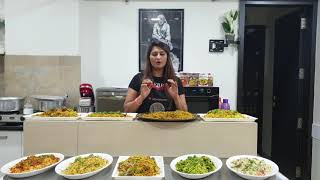 Veg biryani special by Om sai cooking classes call 9325294757 for online classes