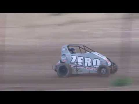 Quincy Raceways POWRi D2 Midgets 6/09/2016