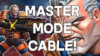 Master Mode Cable - 3 Star Master Mode Challenge - Marvel Contest Of Champions