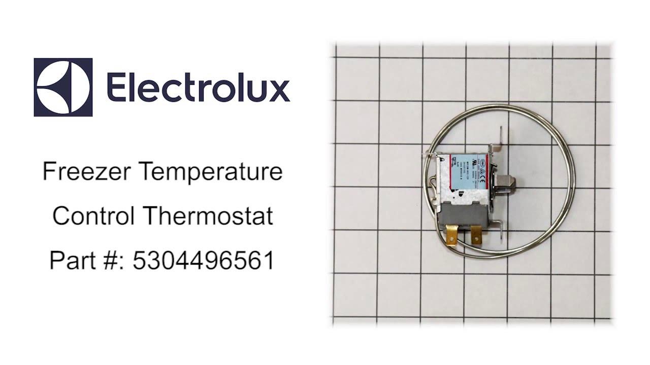 medium resolution of electrolux freezer temperature control thermostat part number 5304496561