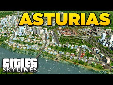 ASTURIAS - Asset Test | Cities Skylines