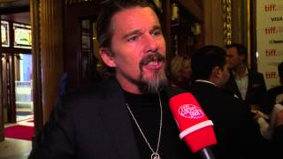 BORN TO BE BLUE stars Ethan Hawke as Chet Baker at TIFF 2015
