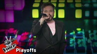 Γιώργος Βάνας - Let Me Entertain You    Playoffs   The Voice of Greece