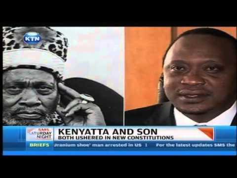 Comparison between Uhuru Kenyatta and his father Jomo Kenyatta