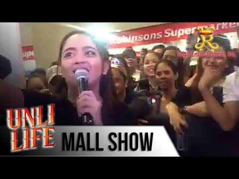 Unli Life Mall Show Donna Cariaga Sings Ligaya At Starmall Alabang