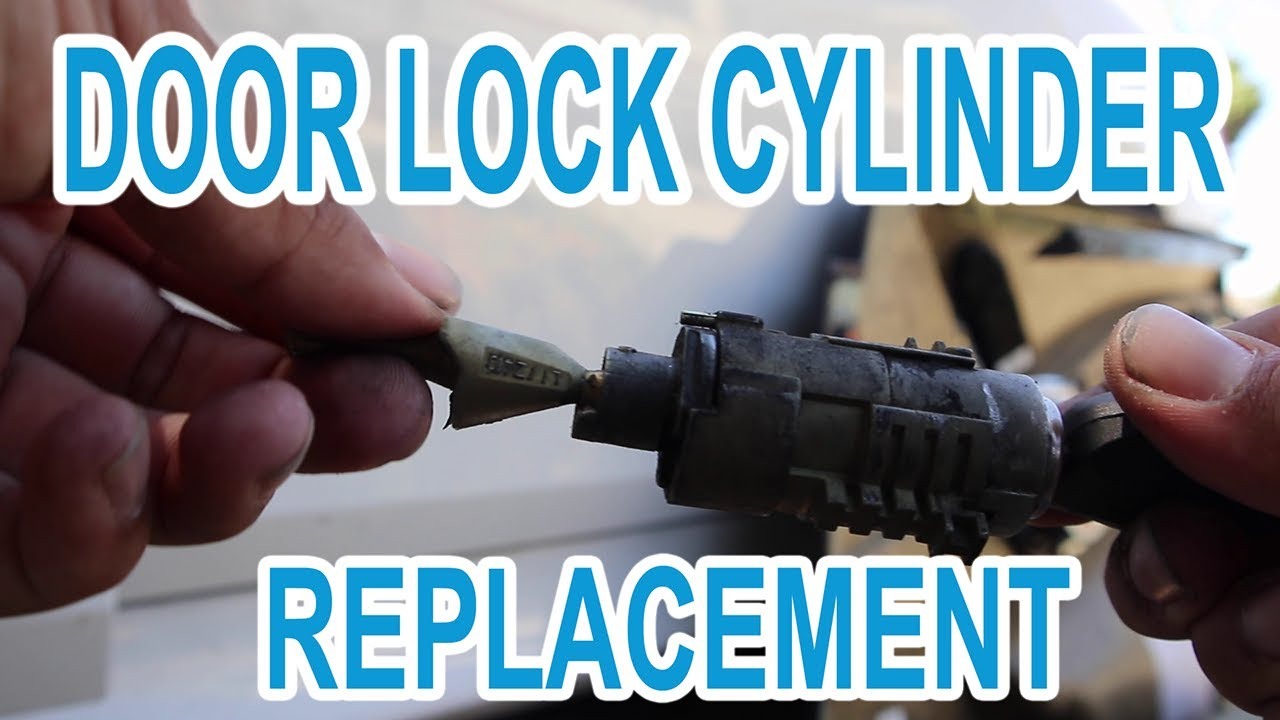 E60 Bmw Door Key Lock Cylinder Replacement Youtube