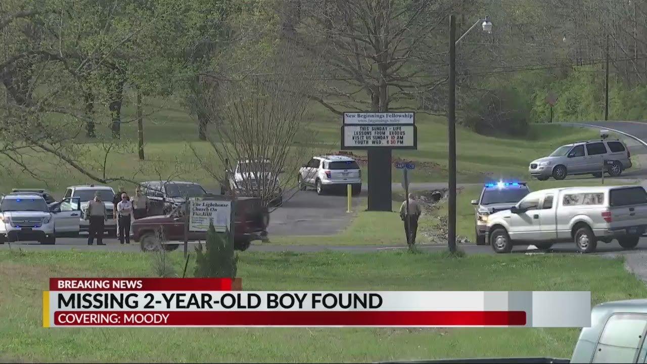 Missing 2-Year-Old Boy Found