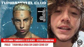 NEO PISTEA ELIMINA TUMBANDO EL CLUB REMIX !! (dominican version) - PAULO LONDRA ´´TIRAN MALA ONDA´´