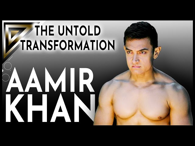 The Acrobatic Body -  Aamir Khan's Untold Transformation
