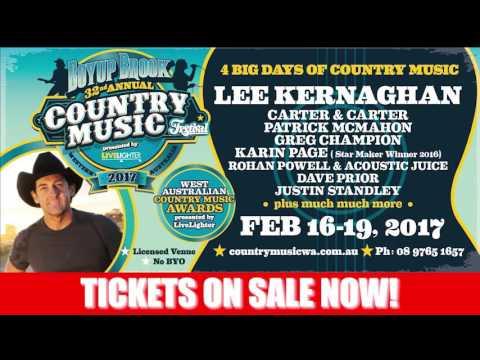 Boyupbrook Country Music Festival 2017 Generic 30sec Web Ad