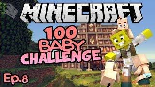 MURDERERS AND... NEMO?| Minecraft 100 Baby Challenge Ep.8