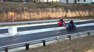 zx14 vs zx14 ENUFF SAID BOYZ Wheelie wheel stand down the track