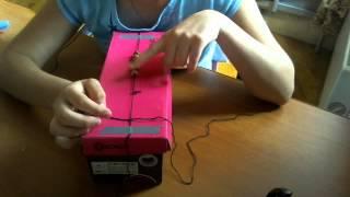 Видео-урок браслет шамбала! Часть 1