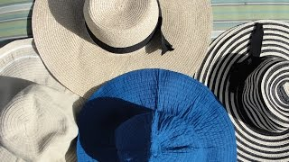 How to make a hat stiff again (straw, floppy and really old hat) ???