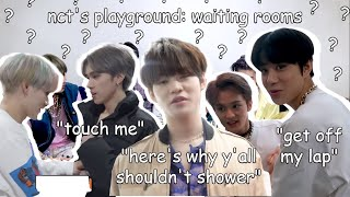 nct's deepest, darkest secrets revealed in their waiting rooms