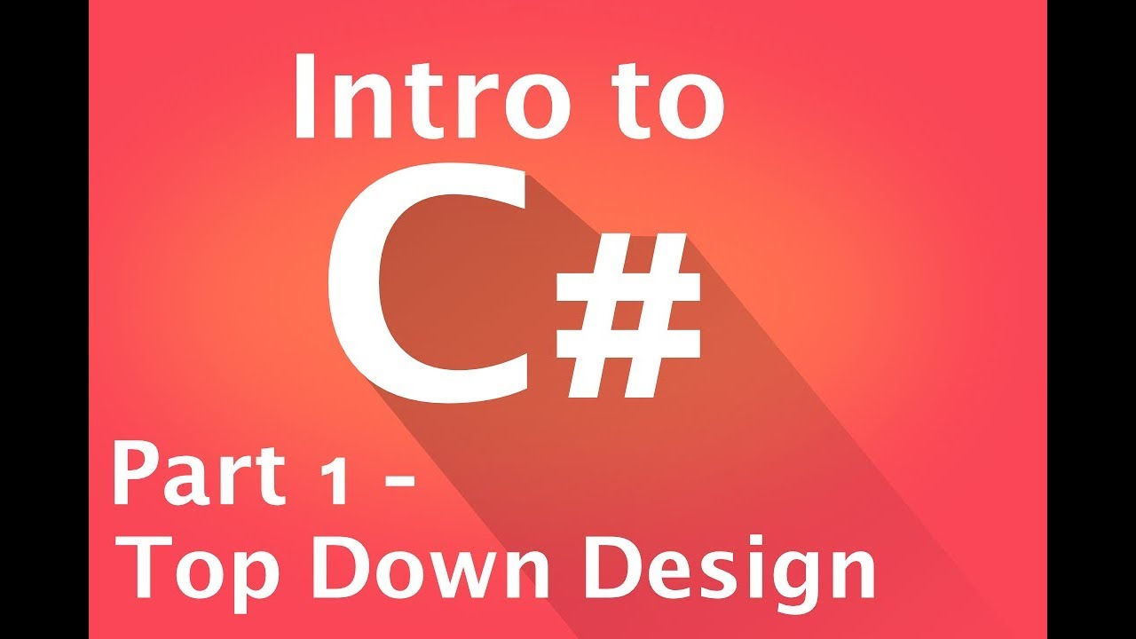 what is top down design in c