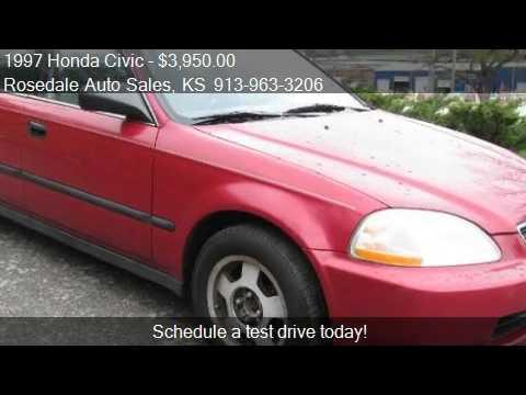 1997 Honda Civic LX sedan - for sale in Kansas City, KS 6610