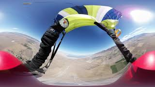 Skydive Utah in Virtual Reality (328) - 4-Way Belly Accordion