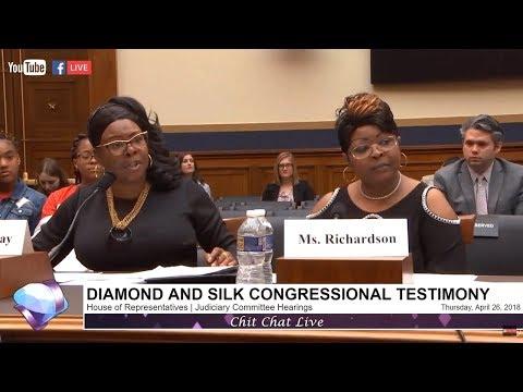 House Judiciary Committee Hearings on Social Media | Diamond and Silk Testimony
