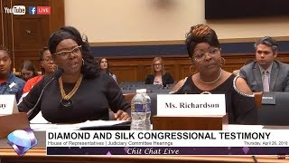 House Judiciary Committee Hearings on Social Media Filtering | Diamond and Silk Testimony