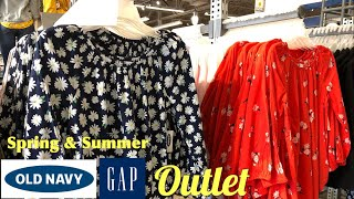 Shop With Me at Old Navy & Gap Outlets