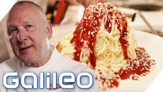 Made in Germany! So wurde das Spaghetti-Eis vor 50 Jahren erfunden! | Galileo | ProSieben