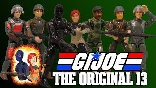 G.I. Joe - Introducing the Original Thirteen Joes!
