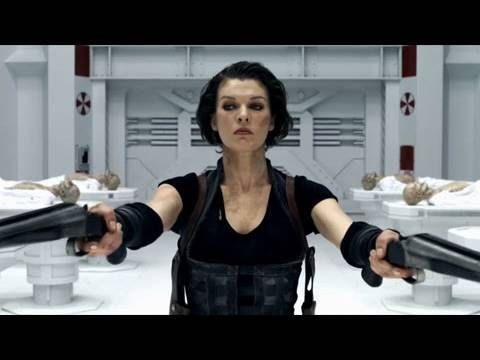 'Resident Evil: Afterlife' Trailer HD