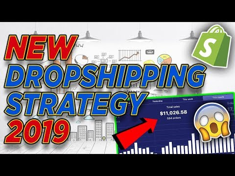 NEW Shopify Dropshipping Strategy For 2019 (MAKE 6 FIGURES)