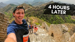 Attempting a MARATHON on the GREAT WALL of CHINA