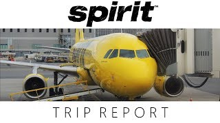 Spirit Airlines A320 Detroit to New York LGA | TRIP REPORT