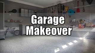 Garage Makeover Project Before and After