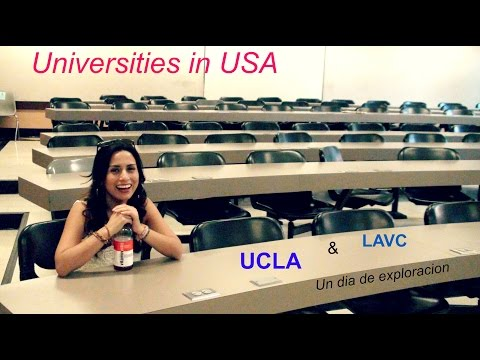 Universidad UCLA y community college en Estados Unidos