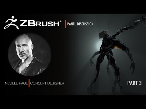 ZBrush Presentation with Neville Page Part 3