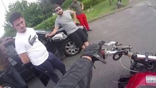 PO#24 Je Test Une Moto Stunt / Passagère Paniqué