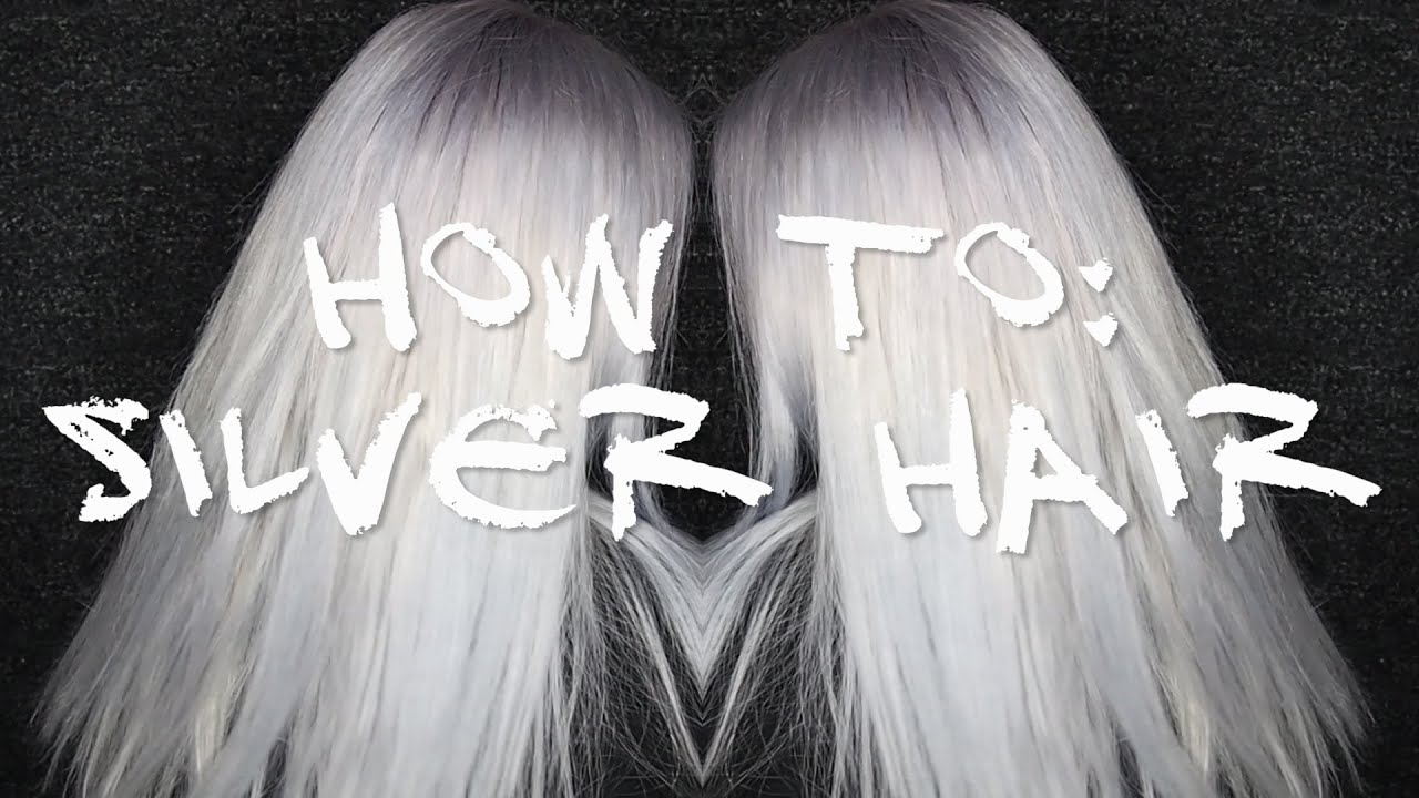 How To Silver Hair Manic Panic Blue Steel