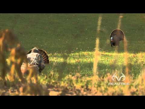 Extreme Close-Up Alabama Turkey Hunt