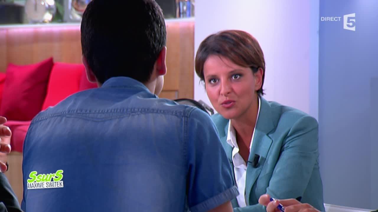 Najat Vallaud-Belkacem répond à Ayoub, un collégien de Clichy sous bois - C à vous - 02/09/2014